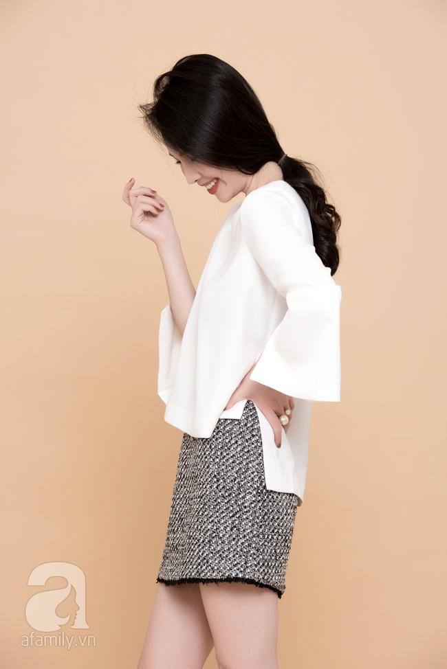 Cả tuần mặc đẹp: Đến sở làm không gì đẹp xinh hơn những thiết kế váy áo tay loe nữ tính - Ảnh 14.