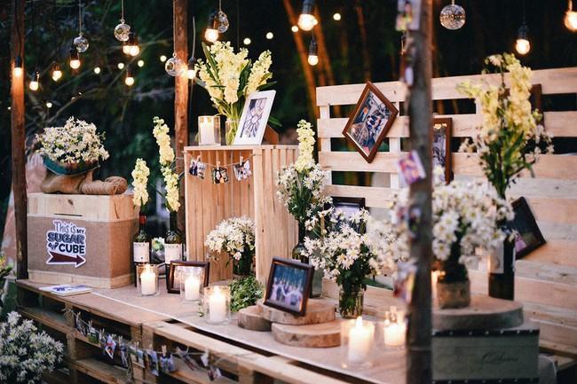 Yêu chết đi được với đám cưới siêu xinh tại khu vườn màu xanh của cặp đôi từng hẹn ước dưới mưa sao băng - Ảnh 11.