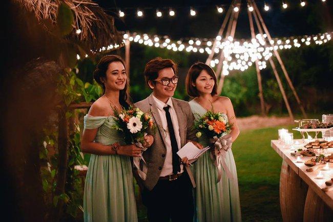 Yêu chết đi được với đám cưới siêu xinh tại khu vườn màu xanh của cặp đôi từng hẹn ước dưới mưa sao băng - Ảnh 20.