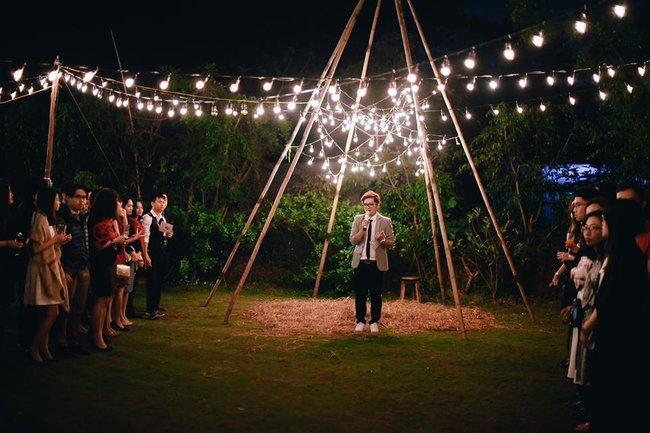 Yêu chết đi được với đám cưới siêu xinh tại khu vườn màu xanh của cặp đôi từng hẹn ước dưới mưa sao băng - Ảnh 13.