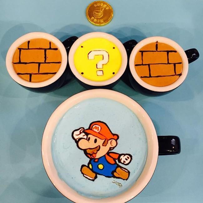 Độc đáo những tác phẩm nghệ thuật đỉnh cao trên tách cà phê - Ảnh 13.