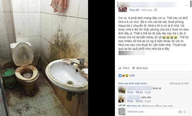 Khách trọ nữ ở bẩn nhất Vịnh Bắc Bộ: ra đi bỏ lại sau lưng nhà tắm mốc meo, đen kịt - Ảnh 2.