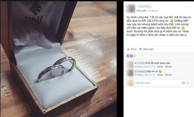 Chồng làm 5 triệu/tháng, được lì xì 400k tất tay tặng vợ làm quà Valentine khiến chị em xuýt xoa ngưỡng mộ - Ảnh 2.