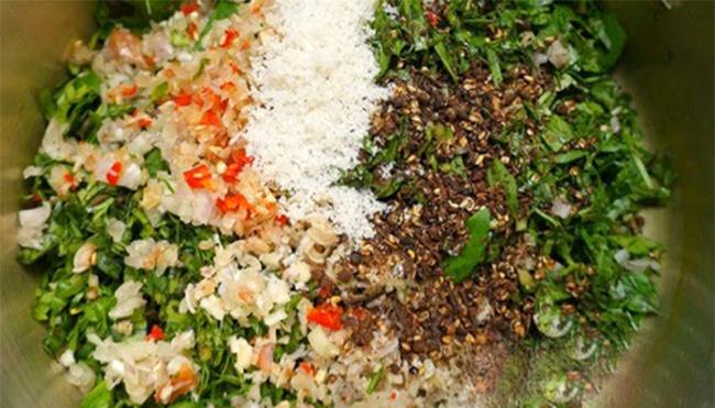 Bắp cải cuộn nhót xanh chấm chẩm chéo - món ăn chỉ nghĩ đã ứa nước miếng - Ảnh 4.