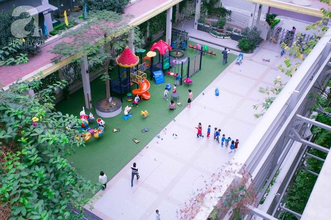 Trường mẫu giáo đầy ánh sáng và cây xanh đốn tim phụ huynh ngay từ cái nhìn đầu tiên - Ảnh 3.