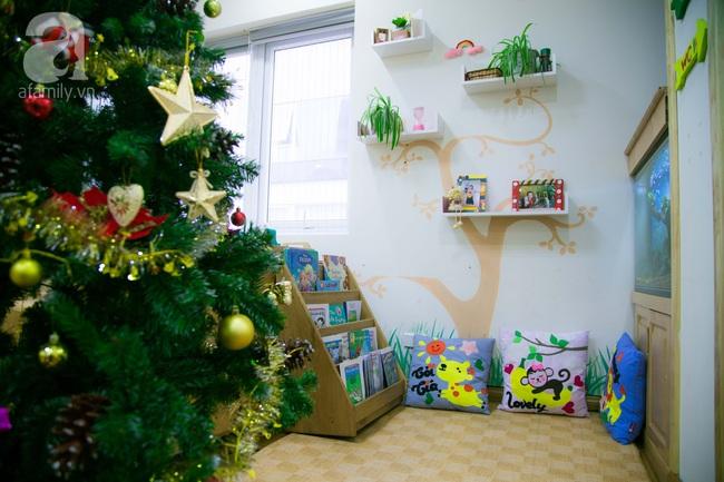 Trường mẫu giáo đầy ánh sáng và cây xanh đốn tim phụ huynh ngay từ cái nhìn đầu tiên - Ảnh 5.