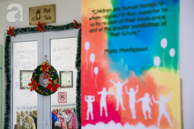 Trường mẫu giáo đầy ánh sáng và cây xanh đốn tim phụ huynh ngay từ cái nhìn đầu tiên - Ảnh 6.