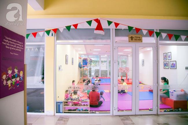 Trường mẫu giáo đầy ánh sáng và cây xanh đốn tim phụ huynh ngay từ cái nhìn đầu tiên - Ảnh 7.