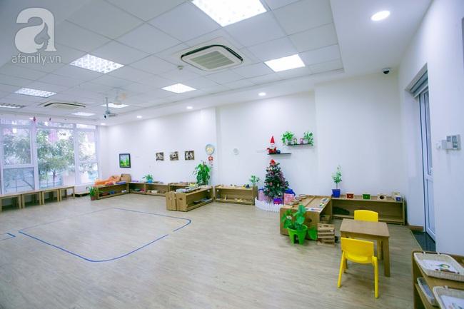 Trường mẫu giáo đầy ánh sáng và cây xanh đốn tim phụ huynh ngay từ cái nhìn đầu tiên - Ảnh 19.