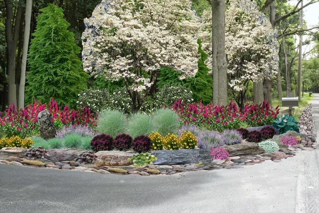 4 ý tưởng trang trí sân vườn bằng các loài hoa cho mùa hè rực rỡ - Ảnh 7.