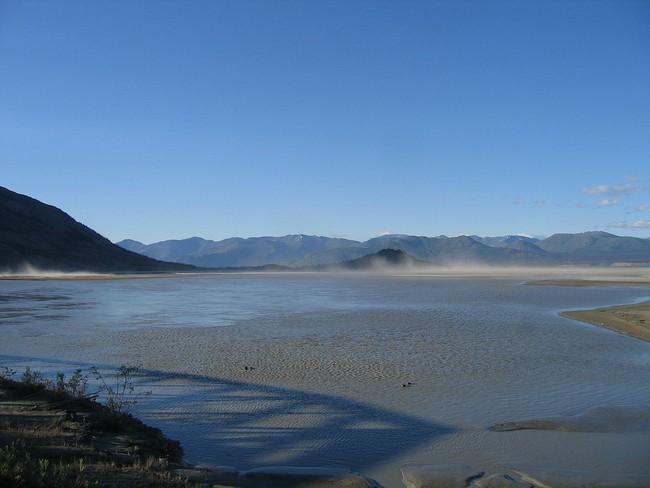 Hiện tượng hiếm thấy: Dòng sông khổng lồ dài 24km biến mất chỉ trong 4 ngày - Ảnh 1.