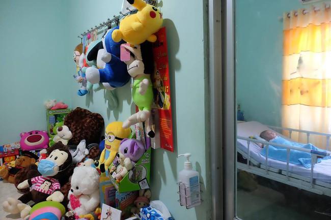 Hình ảnh và tình trạng hiện tại của bé bị não úng thủy Phạm Đức Lộc sau khi trở về từ Singapore - Ảnh 5.