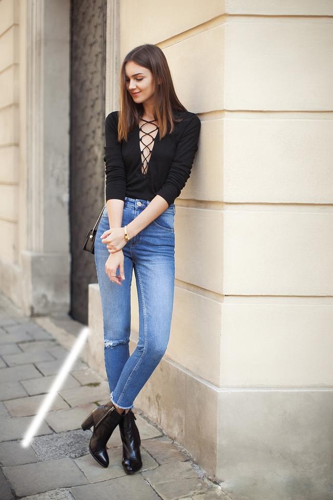 Vóc dáng mình thế nào thì mình chọn quần jeans như thế! - Ảnh 2.