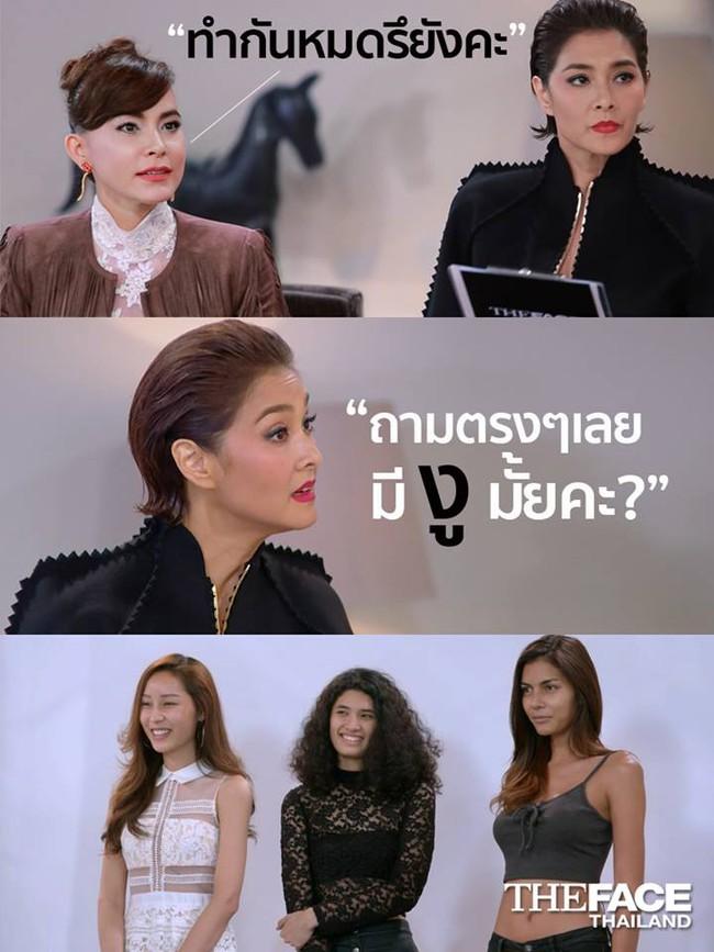 Chỉ có ở The Face Thái Lan, HLV hỏi thí sinh: Em có phải con gái không? - Ảnh 6.