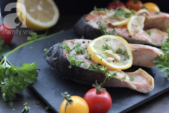 Món ngon cuối tuần: Cá hồi nướng chanh - Ảnh 5.