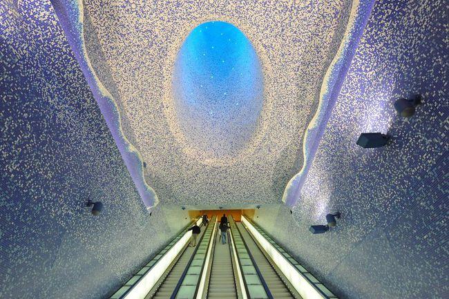 Những ga tàu điện ngầm có thiết kế độc đáo nhất trên thế giới - Ảnh 1.
