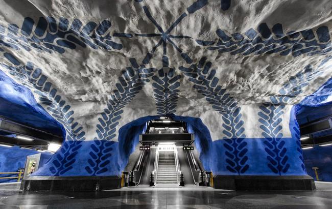Những ga tàu điện ngầm có thiết kế độc đáo nhất trên thế giới - Ảnh 13.