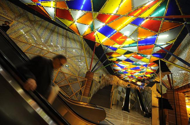Những ga tàu điện ngầm có thiết kế độc đáo nhất trên thế giới - Ảnh 14.