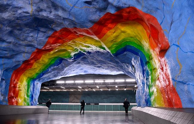 Những ga tàu điện ngầm có thiết kế độc đáo nhất trên thế giới - Ảnh 15.