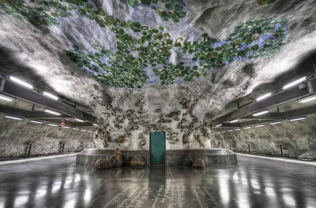 Những ga tàu điện ngầm có thiết kế độc đáo nhất trên thế giới - Ảnh 17.