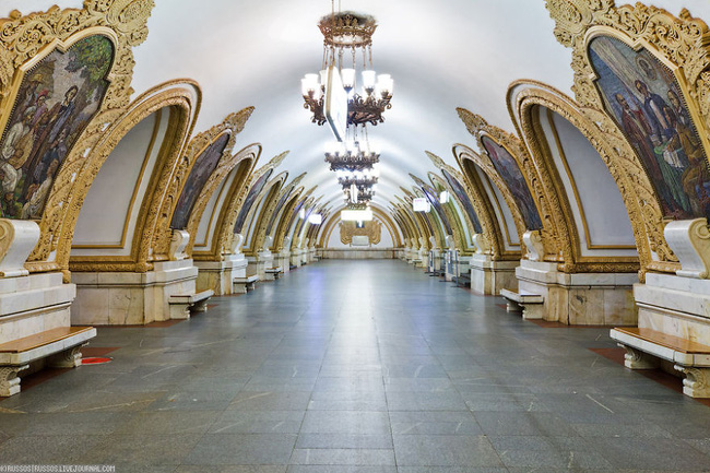 Những ga tàu điện ngầm có thiết kế độc đáo nhất trên thế giới - Ảnh 2.