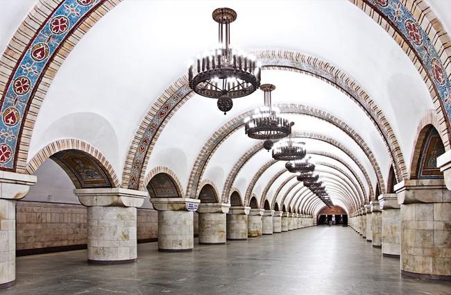 Những ga tàu điện ngầm có thiết kế độc đáo nhất trên thế giới - Ảnh 26.