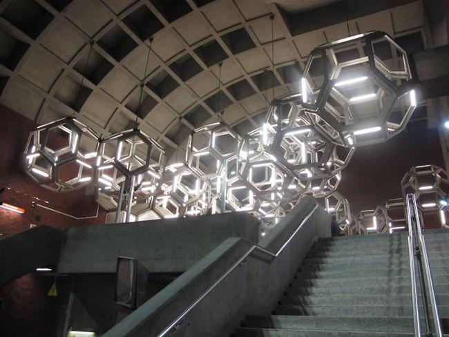 Những ga tàu điện ngầm có thiết kế độc đáo nhất trên thế giới - Ảnh 28.