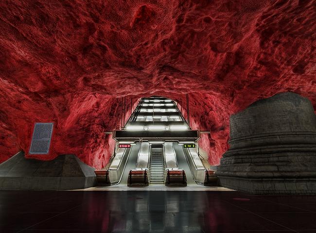 Những ga tàu điện ngầm có thiết kế độc đáo nhất trên thế giới - Ảnh 3.