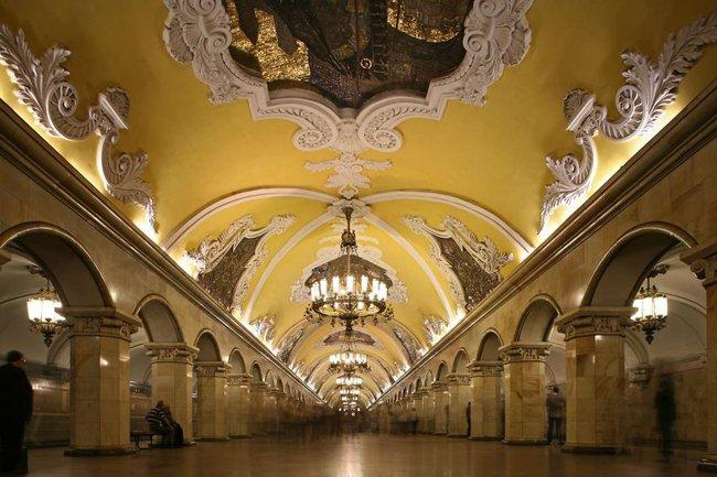 Những ga tàu điện ngầm có thiết kế độc đáo nhất trên thế giới - Ảnh 4.
