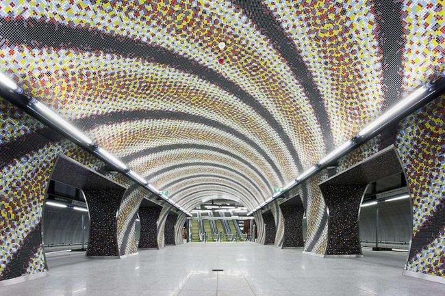 Những ga tàu điện ngầm có thiết kế độc đáo nhất trên thế giới - Ảnh 5.