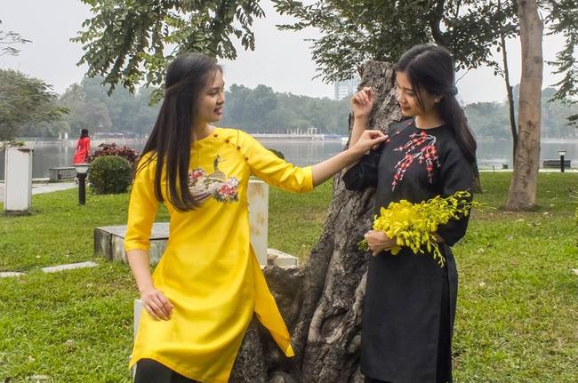 5 tiệm áo dài cách tân cực chất, giá dưới 1 triệu để đẹp cả Tết ở Hà Nội - Ảnh 14.