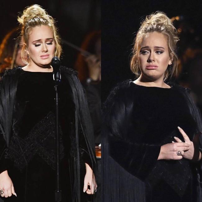 Khoảnh khắc đáng nhớ nhất Grammy 2017: Adele bẻ kèn, Katy Perry chế nhạo Britney Spears? - Ảnh 4.