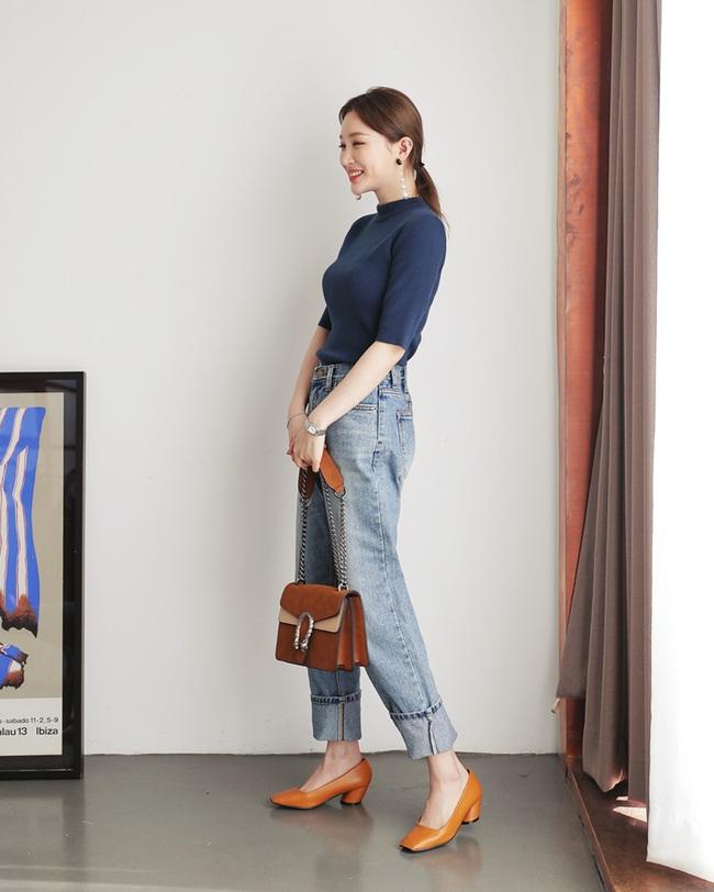 Có bao giờ bạn nghĩ quần jeans với giày cao gót lại hợp gu thế này? - Ảnh 21.