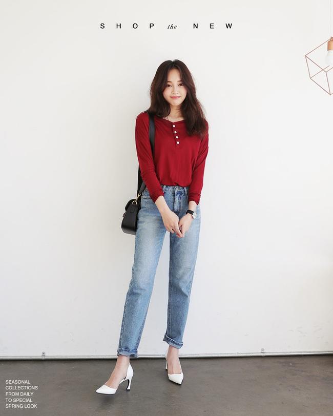 Có bao giờ bạn nghĩ quần jeans với giày cao gót lại hợp gu thế này? - Ảnh 22.