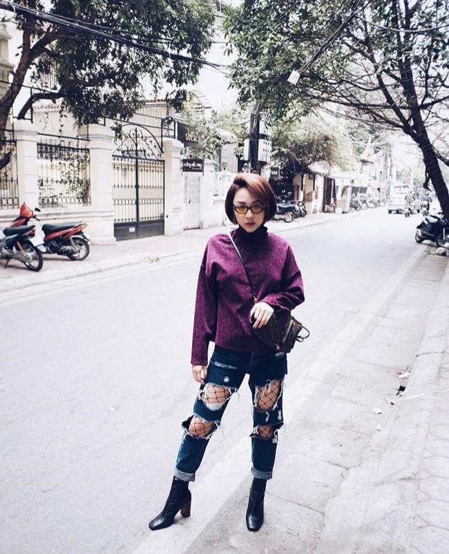 Điểm mặt 4 kiểu quần jeans đang được kiều nữ Việt kết nhất - Ảnh 9.
