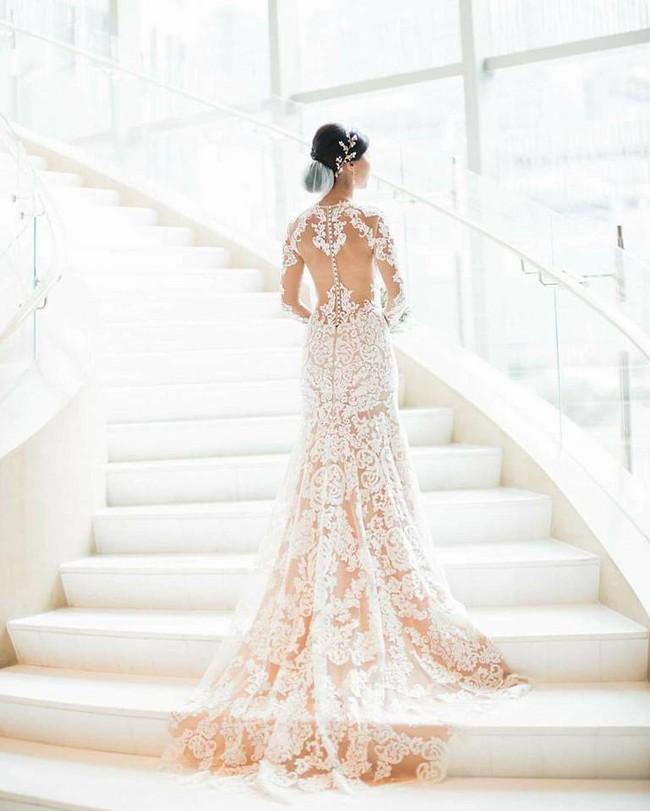 Hôn lễ của chị chồng Tăng Thanh Hà: Sang chảnh, xa hoa và vui ngất trời - Ảnh 2.