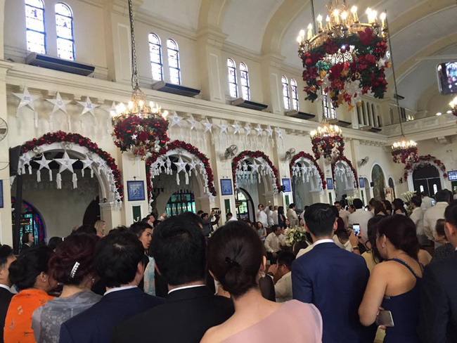 Hôn lễ của chị chồng Tăng Thanh Hà: Sang chảnh, xa hoa và vui ngất trời - Ảnh 8.