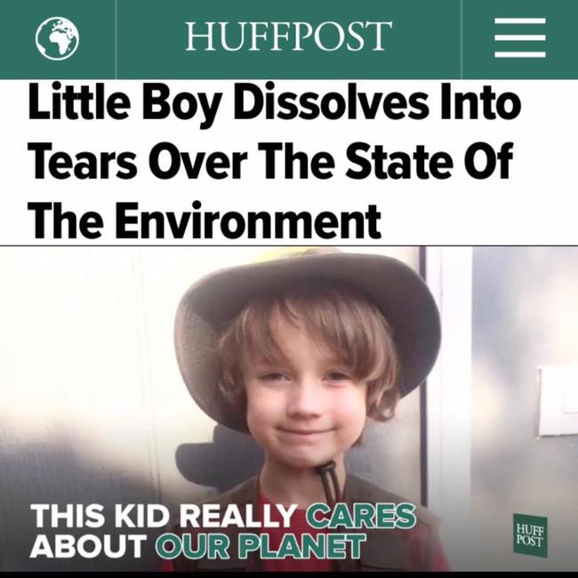 Người lớn sẽ phải bật cười, và sau đó xấu hổ sau khi nghe cậu bé 7 tuổi này nói chuyện - Ảnh 10.