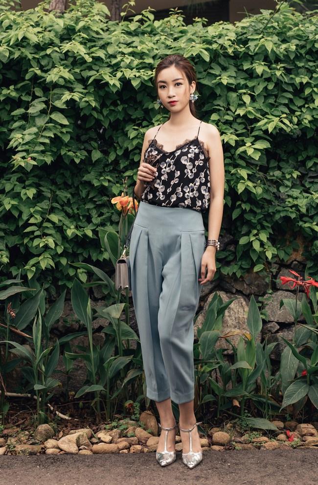 Hoa hậu Đỗ Mỹ Linh khoe vẻ đẹp trong sáng và nụ cười như mùa thu tỏa nắng - Ảnh 6.