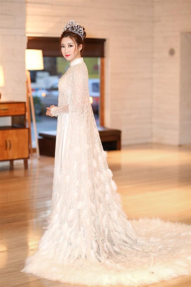 """Hoa Hậu Mỹ Linh xuất hiện ấn tượng với hình ảnh gợi nhớ """"Công chúa Mỵ Châu"""" - Ảnh 5."""