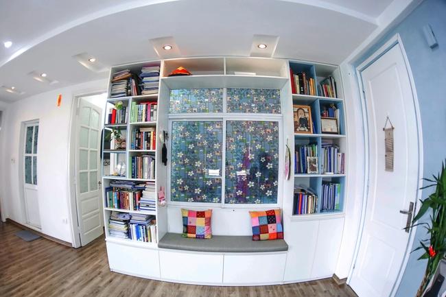Căn hộ 80m² với phong cách Scandinavian đẹp đến từng chi tiết nhỏ của gia đình cô giáo trẻ ở Hà Nội - Ảnh 5.