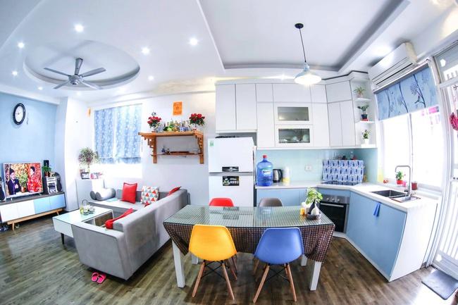 Căn hộ 80m² với phong cách Scandinavian đẹp đến từng chi tiết nhỏ của gia đình cô giáo trẻ ở Hà Nội - Ảnh 1.