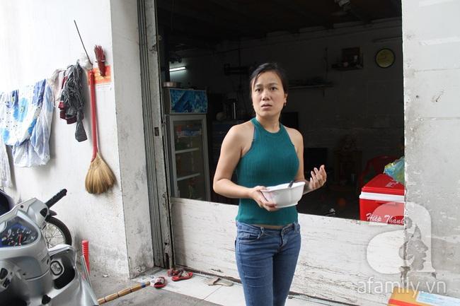 Chị Thanh cho biết do lo sợ đứa bé bị bắt cóc nên lúc đầu có người đến nhận không ai dám bàn giao.