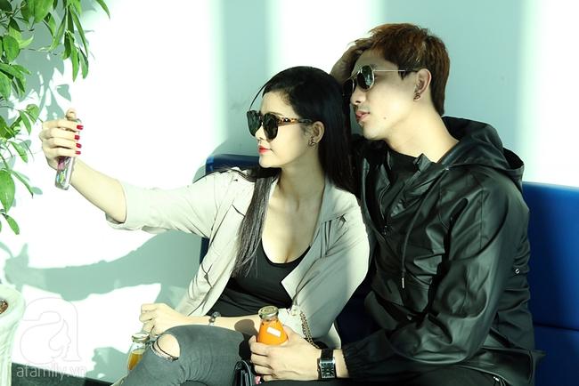 Trương Quỳnh Anh quậy tưng bừng khi cõng Tim giữa sân bay - Ảnh 7.