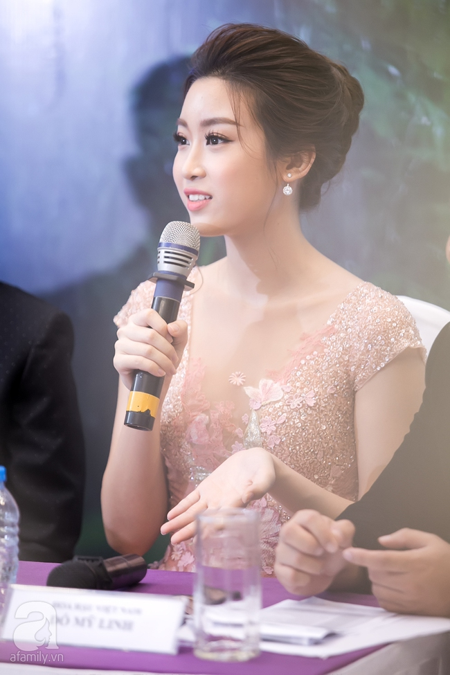 Hoa hậu Đỗ Mỹ Linh ngọt ngào như một nàng công chúa trong chiếc váy bồng bềnh - Ảnh 5.