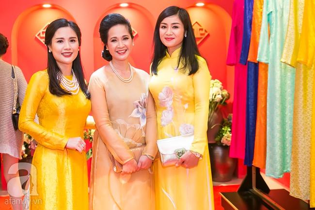 Ngọc nữ màn ảnh một thời - Thu Hà đẹp thanh lịch bên Hoa hậu Ngọc Hân - Ảnh 6.