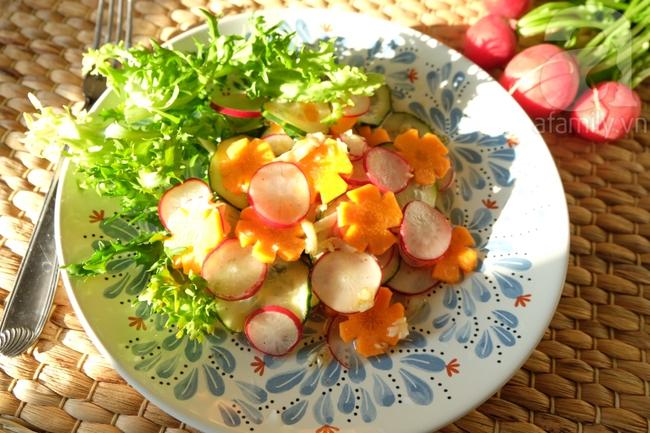 15 phút có ngay món salad củ cải đỏ đem lại may mắn cả năm - Ảnh 6.