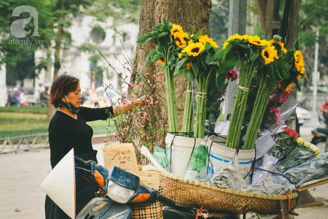Rằm tháng Chạp, đã thấy nôn nao vị Tết khi hoa đào về trên phố xuân - Ảnh 4.