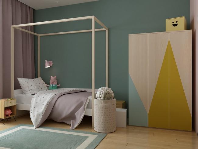 10 mẫu phòng ngủ cho bé đầy màu sắc và không gian vui chơi - Ảnh 7.
