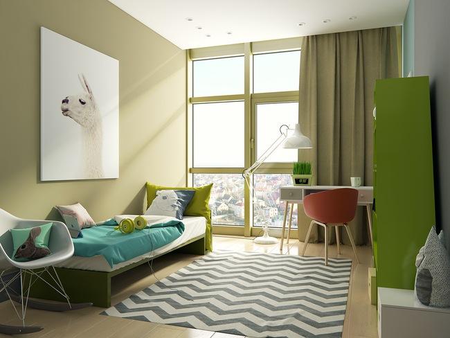 10 mẫu phòng ngủ cho bé đầy màu sắc và không gian vui chơi - Ảnh 10.
